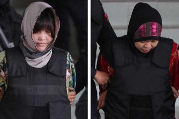 """Dos mujeres de Indonesia y Vietnam han sido acusadas del hecho por el delito de """"homicidio con premeditación"""""""