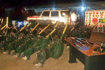 El grupo delictivo se dedicaba al robo de armas de fuego y chalecos antibalas en la entidad zuliana