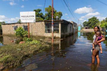 Los estados más afectados por las lluvias son Bolívar, Amazonas, Delta Amacuro, Guárico, Monagas y Anzoátegui