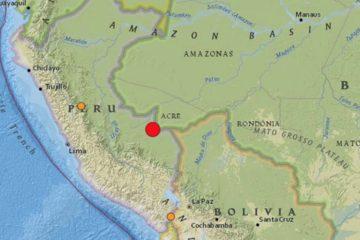 Fue el segundo sismo en la nación peruana en menos de un día pues la tarde del jueves hubo un temblor de magnitud 4,4