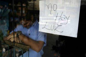 Sin servicio eléctrico en Zulia por apagón de más de 36 horas