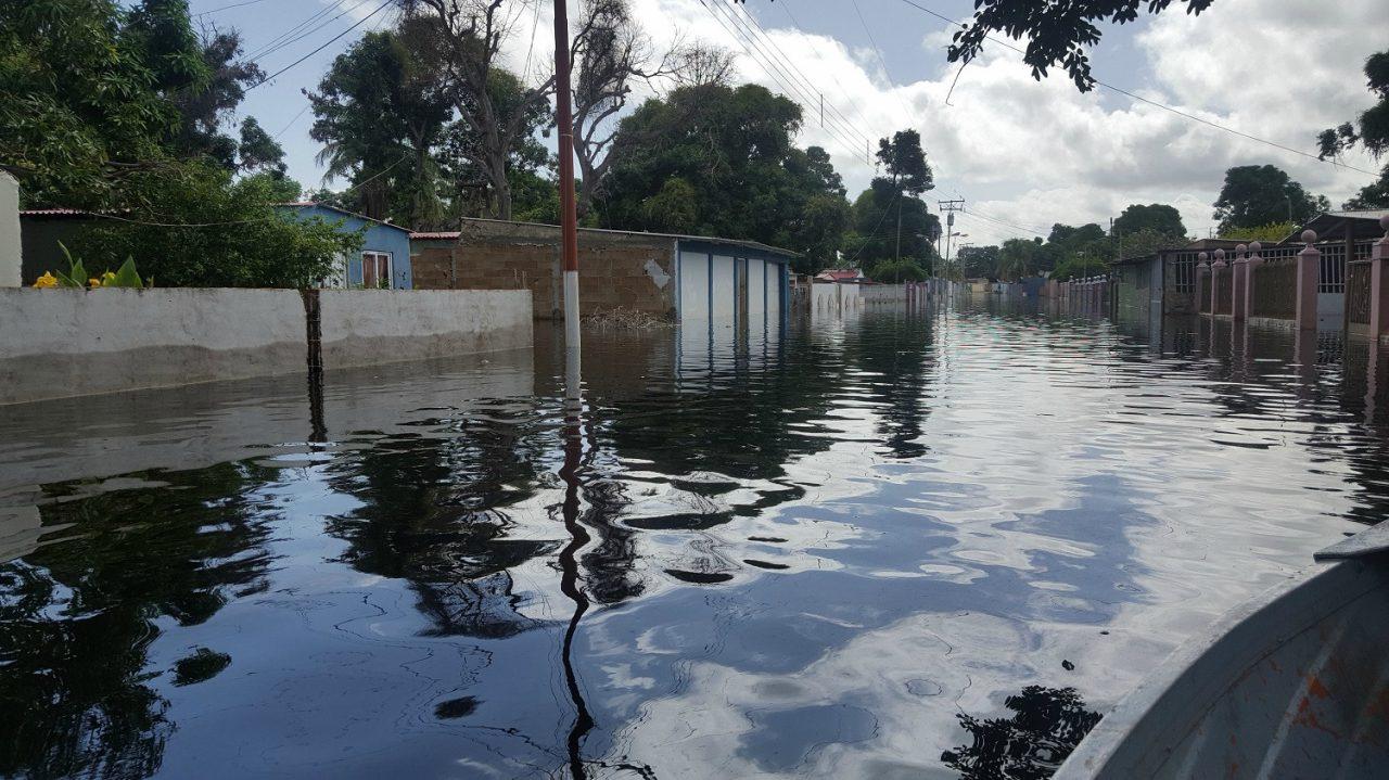 Crecida del río Orinoco deja a más 300 familias damnificadas