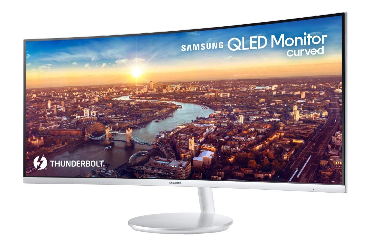 Samsung lanza al mercado el primer monitor curvado