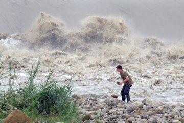 Fuertes lluvias en Taiwan dejó cuatro personas muerta y más de 140 heridas