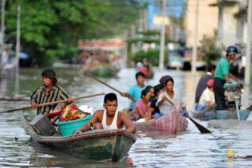 Fuertes lluvias en Birmania dejaron más de 15 muertos y 144 mil desplazados