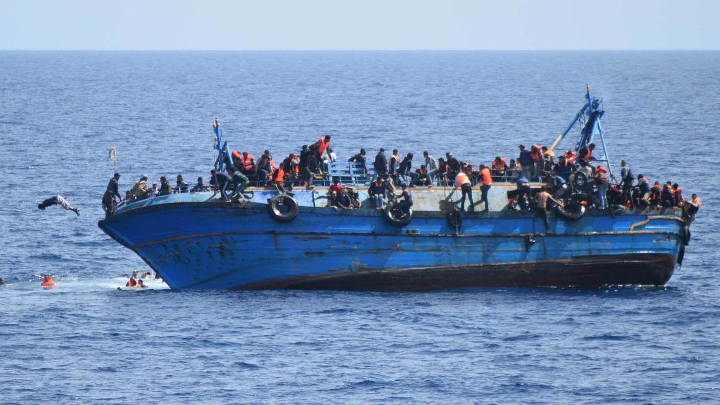 La ONG señaló que la Unión Europea era el responsable de elevado número de víctimas fatales de emigrantes en el Mediterráneo