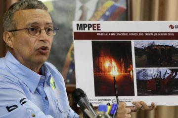 Motta Domínguez advierte que el servicio eléctrico se verá interrumpido