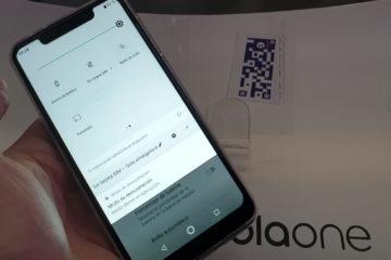 El celular tiene una pantalla de 5.9 pulgadas con resolución HD+; una cámara trasera de 13 megapíxeles y 2 megapíxeles