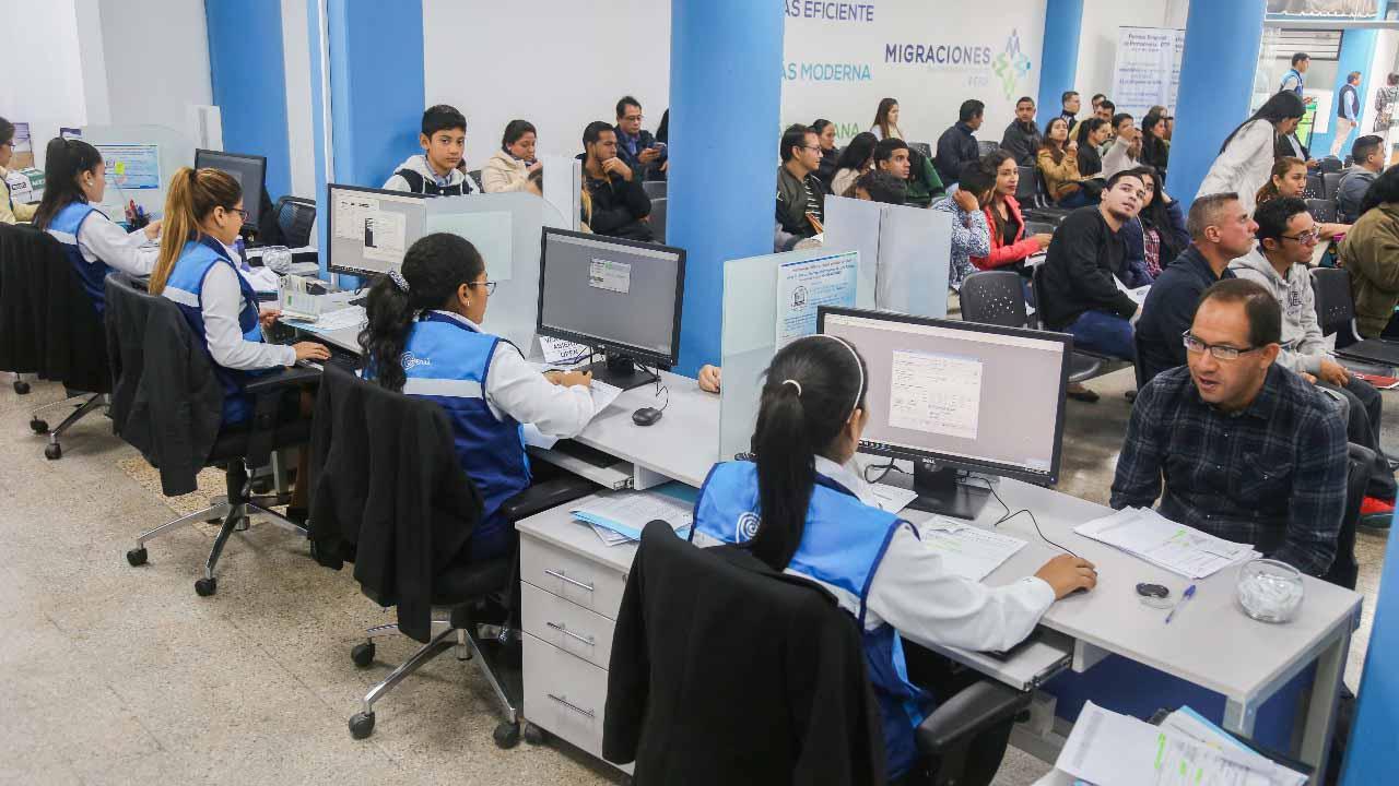 Venezolanos en Perú realizaron trámite para permiso temporal exitosamente