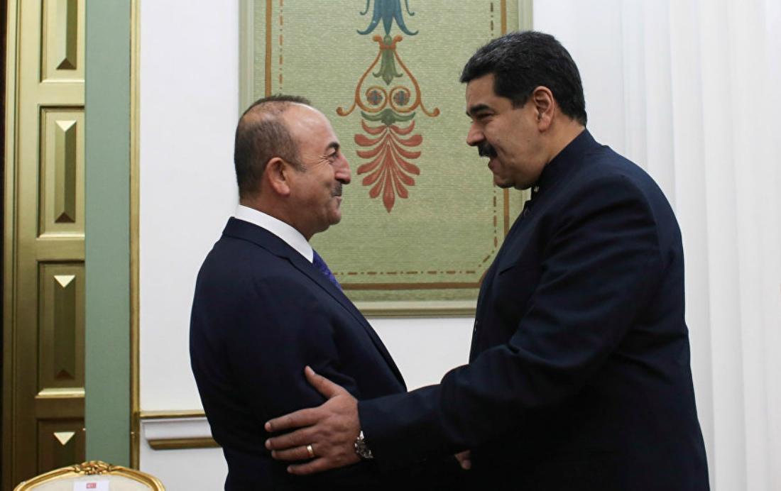 El jefe de Estado, Nicolás Maduro, sostuvo un encuentro con el ministro de Relaciones Exteriores de ese país, Mevlüt Çavuşoğlu