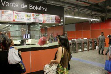 El valor para el nuevo boleto del sistema subterráneo de transporte será de 0,50 bolívares soberanos