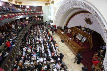 """El presidente de la ANC, Diosdado Cabello, calificó al representante de la OEA como """"un gran miserable lleno de odio"""""""
