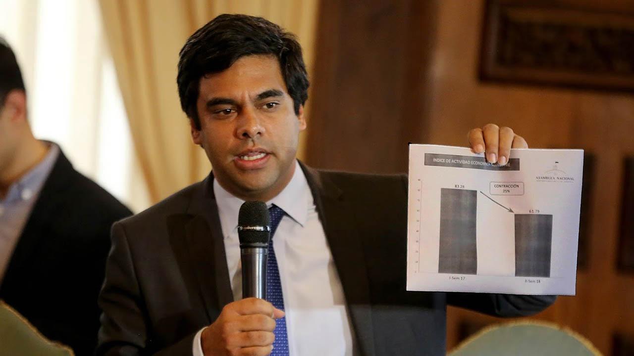 El diputado de la Asamblea Nacional criticó que durante el actual Gobierno la producción petrolera sea menor a la de Brasil
