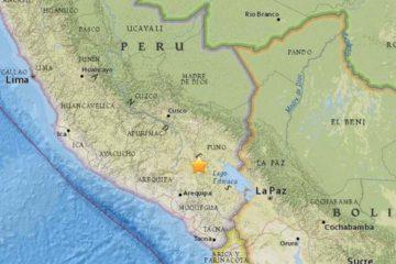 El temblor se registró después de las seis de la mañana, poco despeés de un primer sismo de magnitud 4,5