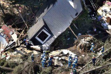 El movimiento sísmico ocurrió a escasos dos días del paso del tifón Jebi, que dejó 11 muertos y centenares de heridos
