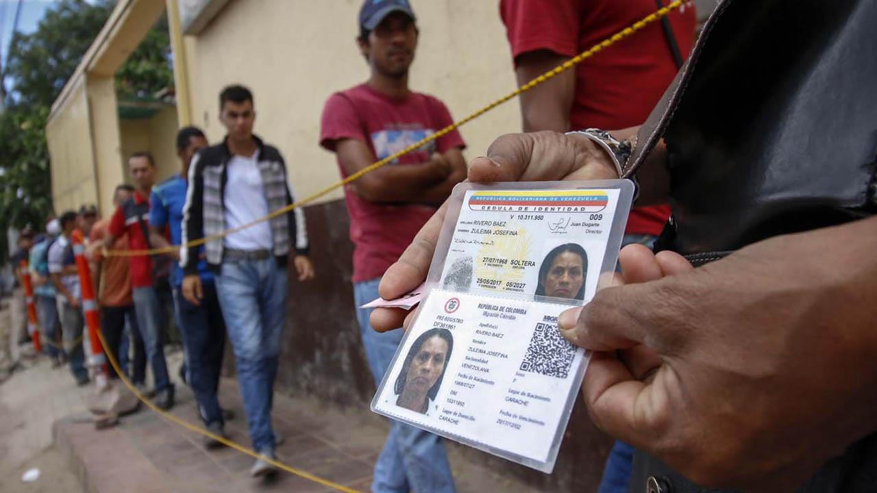 Migración Colombia ha confirmado que un total de 273.187 venezolanos han logrado obtener el PEP