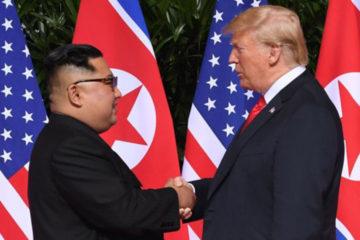La portavoz de la Casa Blanca envió una misiva al líder norcoreano con el fin de planificar otra reunión entre ambos mandatarios