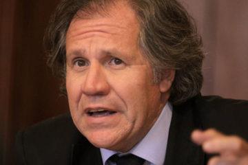 Organizaciones de izquierda consideraron que el secretario general de la OEA busca favorecer a Estados Unidos