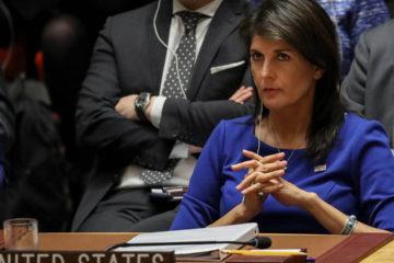La embajadora Nikki Haley repudió la vulneración de derechos humanos en Nicaragua