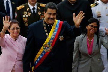 EEUU sanciona a la mujer de Maduro y al ministro de Defensa