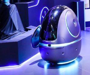 Alibaba presentó un robot para atender a los huéspedes en los hoteles