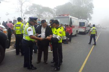 Doce muertos en séptimo accidente de bus en Ecuador