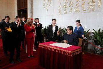 Maduro: Plan de Recuperación Económica cuenta con el apoyo de China