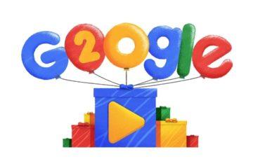 """Con un video """"doodle"""" Google celebra dos décadas"""
