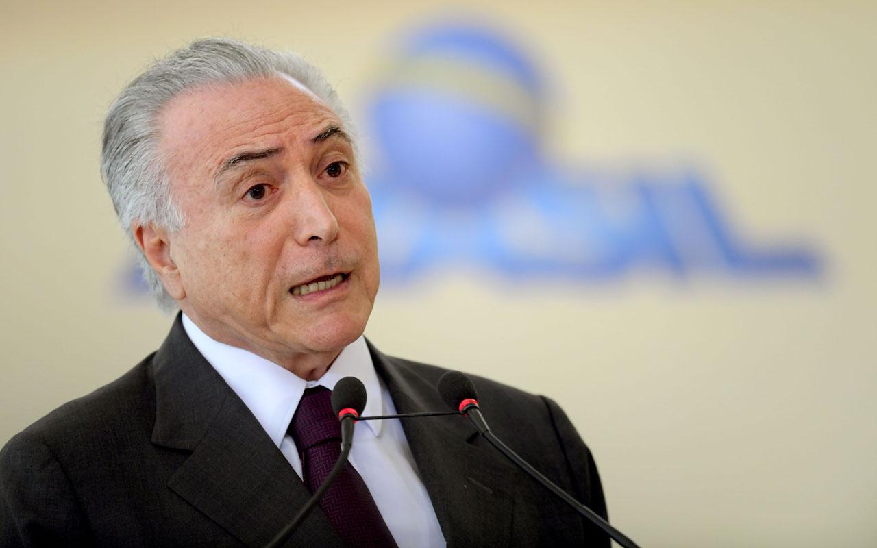 Temer: Brasil seguirá apoyando a los venezolanos