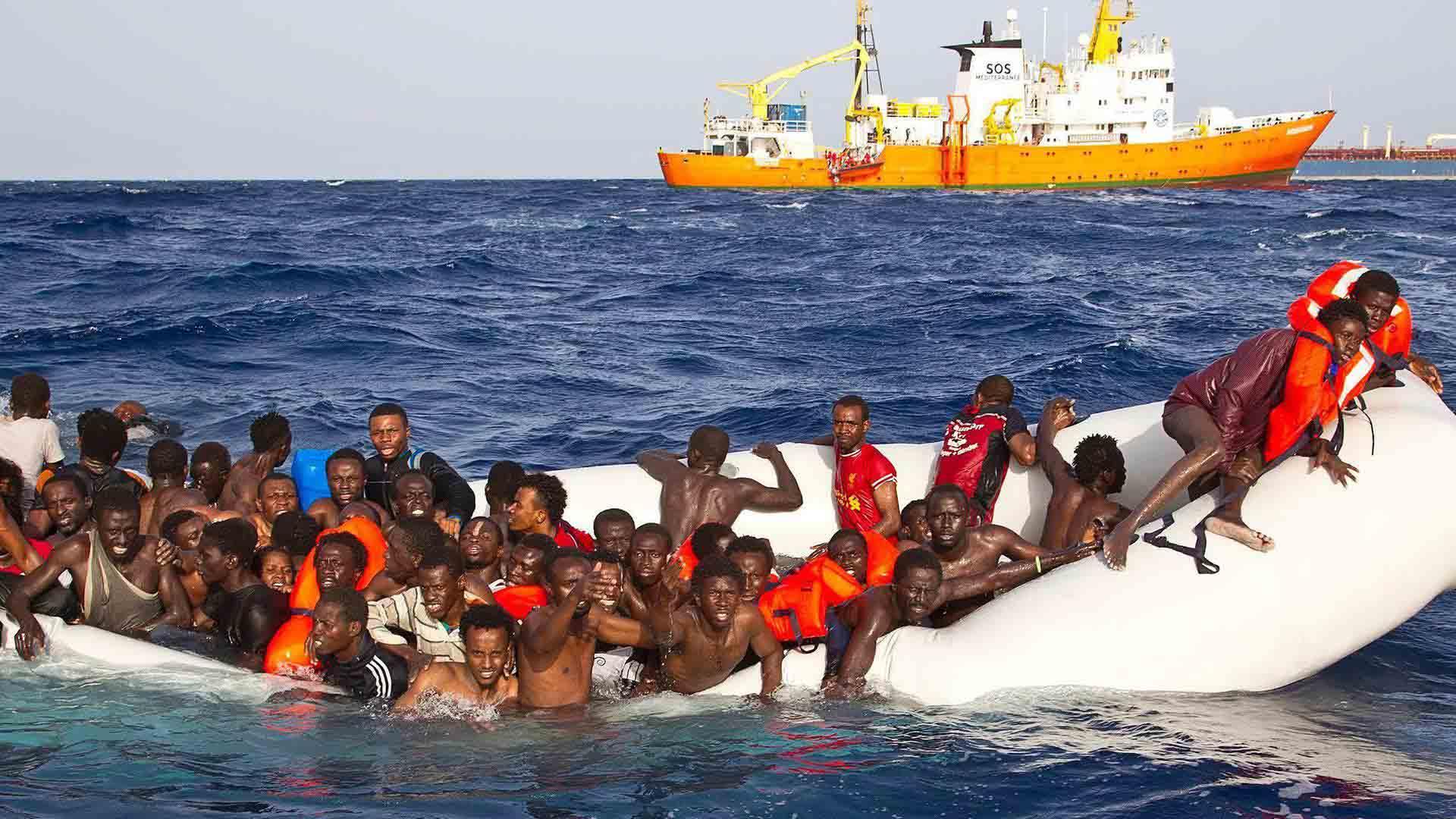 La ACNUR señala que entre enero y julio de 2018, uno de cada 18 refugiados falleció o desapareció en esta ruta marítima