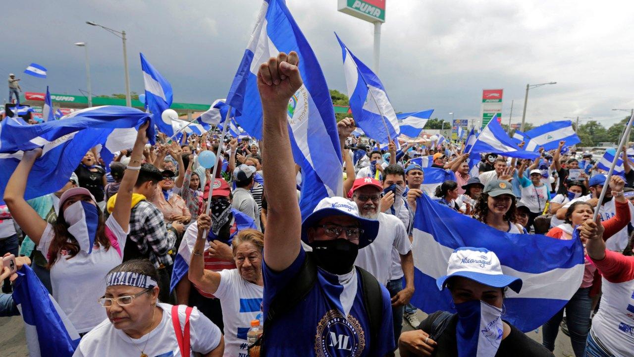 Un muerto y varios heridos durante marcha opositora en Nicaragua