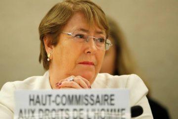 Bachelet llama a abordar violaciones DDHH en Venezuela y Nicaragua