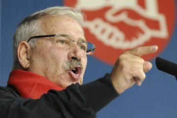 Condenado a prisión histórico sindicalista español
