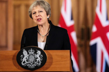 """La primera ministra británica señaló que dicha propuesta sería """"inequívocamente favorable a los negocios"""" globales"""