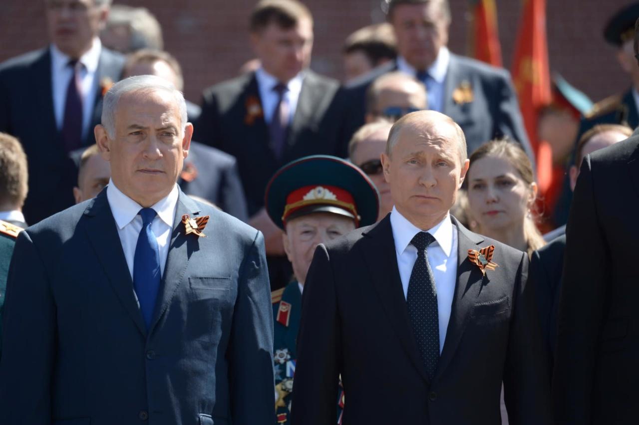 Netanyahu anuncia que se reunirá con Putin tras tensiones entre ambos países