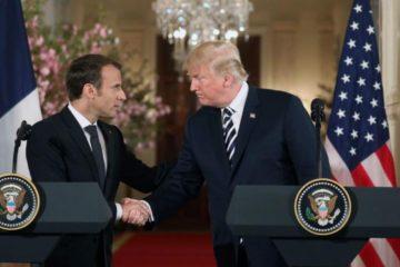 Macron y Trump abordaron situación en Siria de cara a la cumbre de Estambul