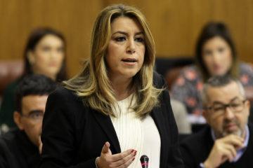 La información la dio a conocer la presidente regional, Susana Díaz