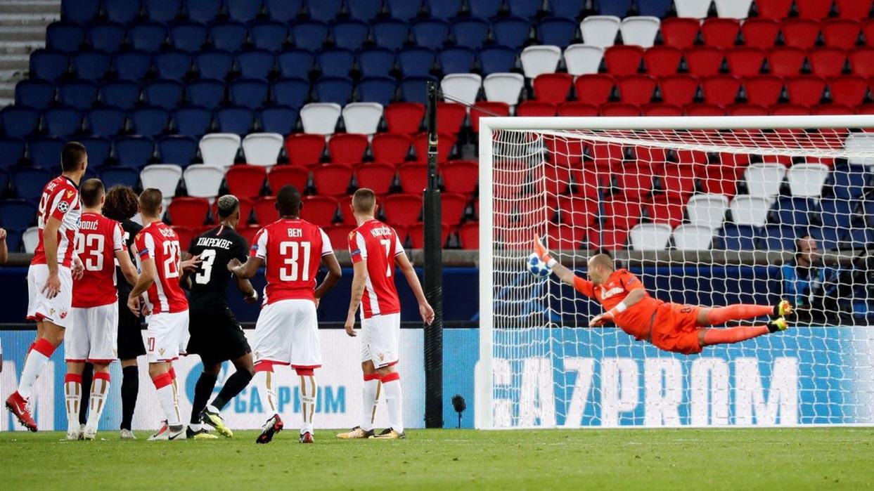 El club serbio fue acusado de manipulación en el partido de la Liga de Campeones del fútbol