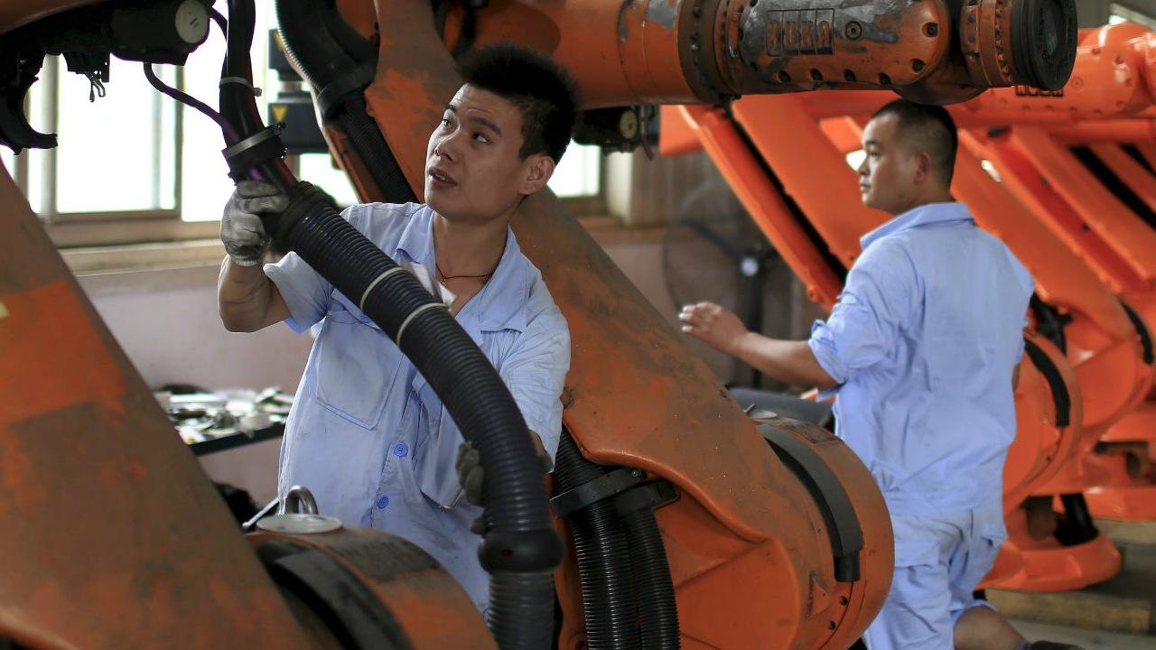 La fabricación de productos sigue siendo un importante pilar de la economía en el gigante asiático