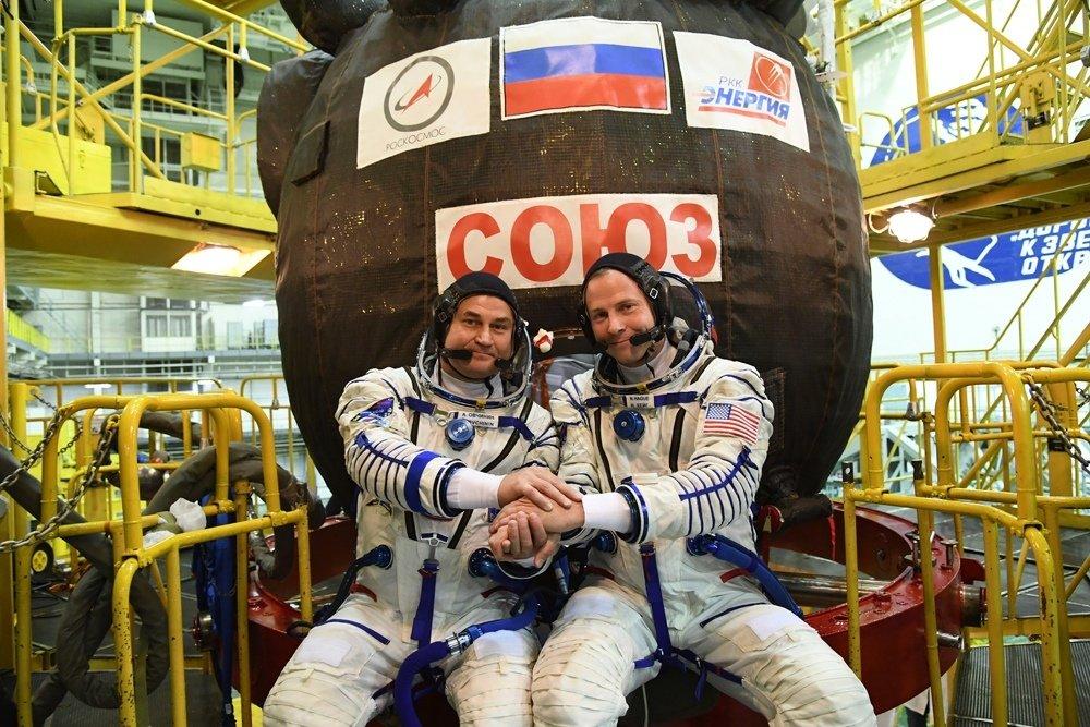 Dos astronautas sobrevivieron al aterrizaje de emergencia de la Nave Soyuz