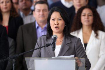 Acusan a ex ministros por captar dinero ilegal para Keiko Fujimori