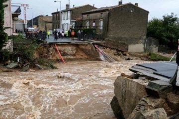 Al menos 13 muertos en inundaciones en el sur de Francia