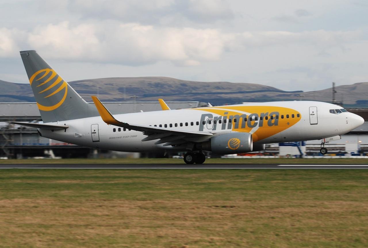 Aerolínea islandesa Primera Air, cesa sus operaciones tras declararse en quiebra