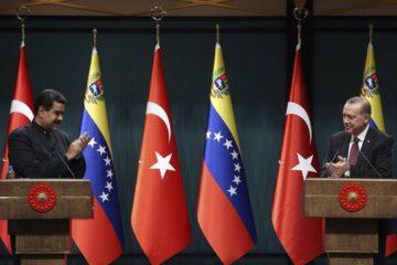 Venezuela afianza relaciones bilaterales con Turquía
