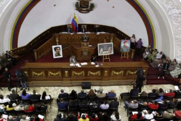En esta oportunidad, el documento fue presentado ante la Asamblea Nacional Constituyente y las cifras estaban reflejadas en petros