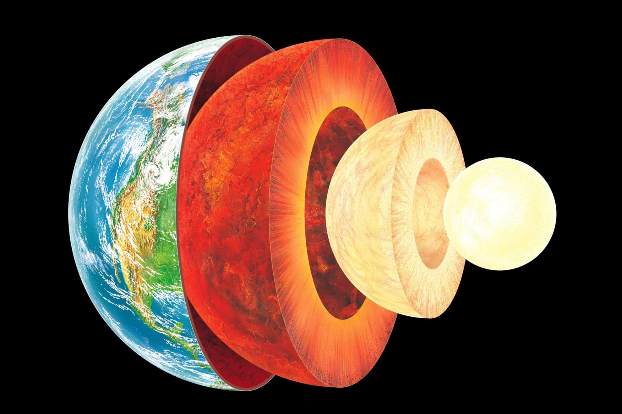 DOBLE LLAVE - Investigación de la Universidad Nacional de Australia confirma que el núcleo es sólido