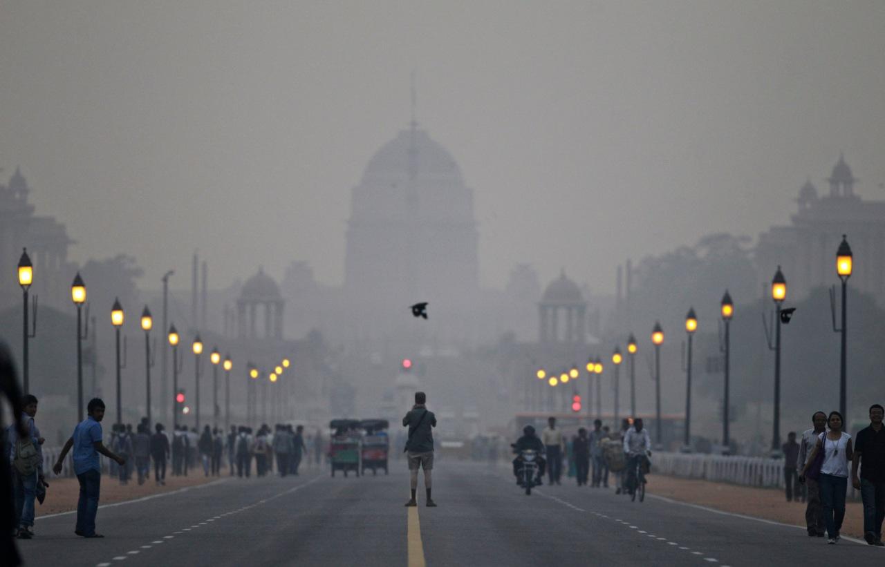 Nueva Delhi pone en marcha medidas de emergencia por contaminación