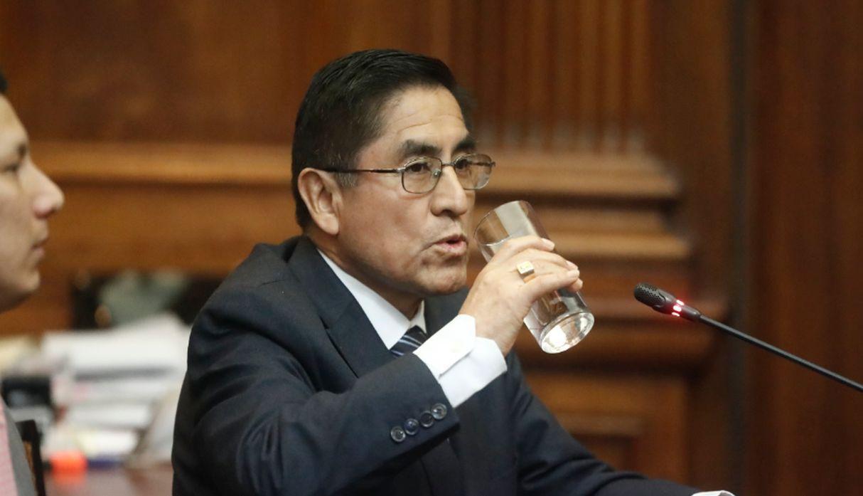 DOBLE LLAVE - Carlos Moran fue nombrado ministro del Interior después de que Mauro Medina dimitiera