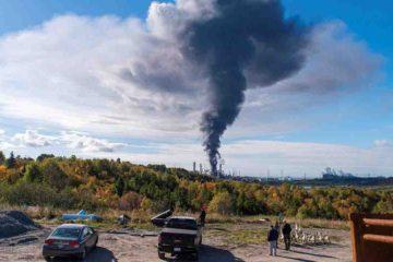 La empresa Irving Oil indicó que los empleados contratados fueron atendidos por lesiones potencialmente mortales