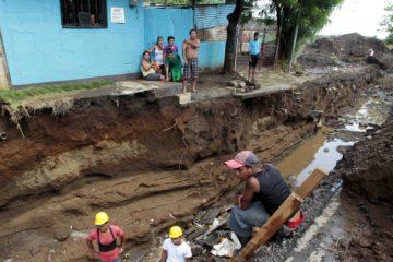 El Gobierno nicaragüense decretó alerta roja recientemente por el mal tiempo